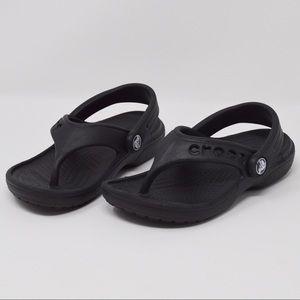 Kids Crocs | Black, Size 8-9